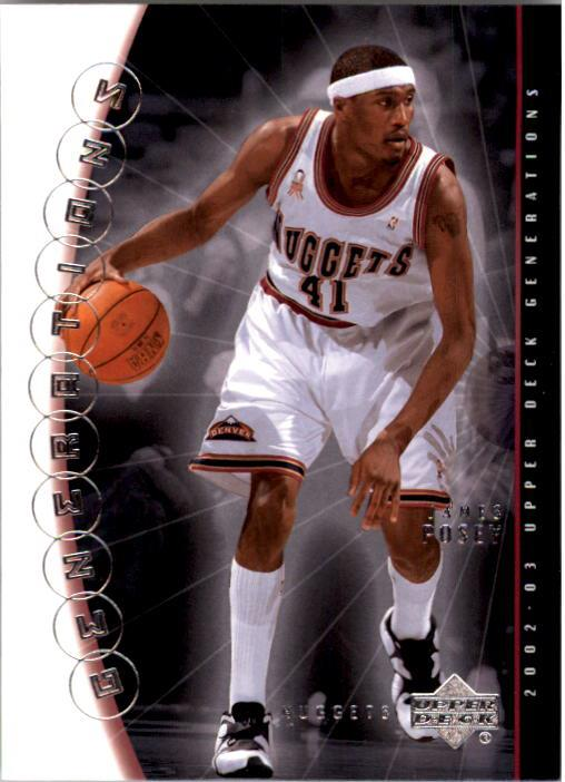 2002-03 Upper Deck Generations #9 James Posey