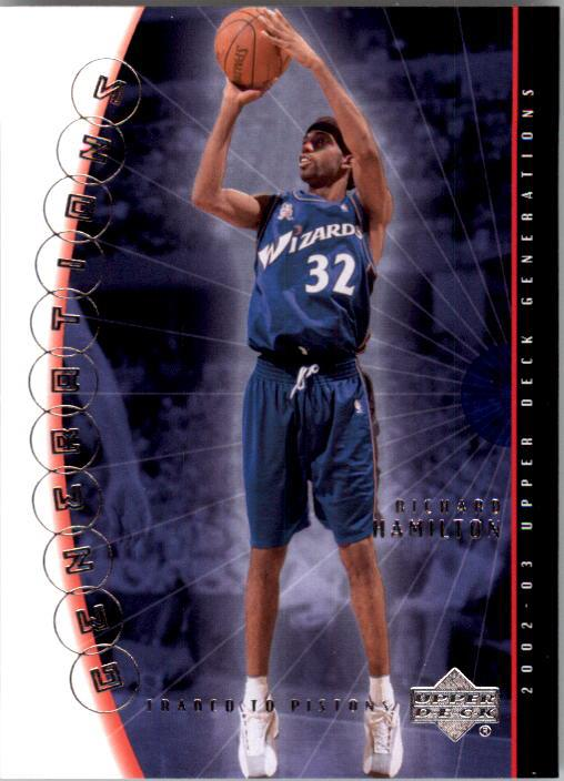2002-03 Upper Deck Generations #10 Richard Hamilton