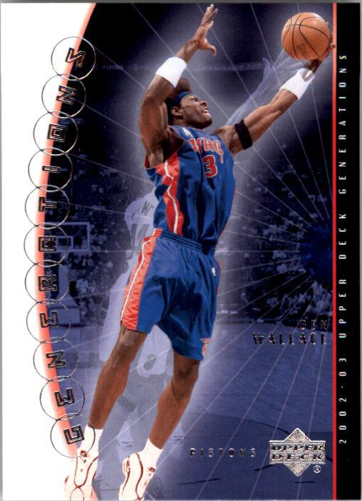 2002-03 Upper Deck Generations #11 Ben Wallace