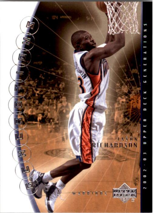 2002-03 Upper Deck Generations #13 Jason Richardson