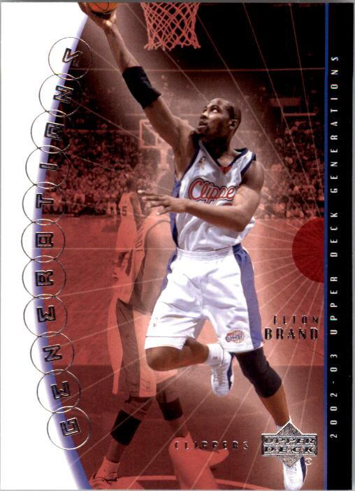 2002-03 Upper Deck Generations #18 Elton Brand