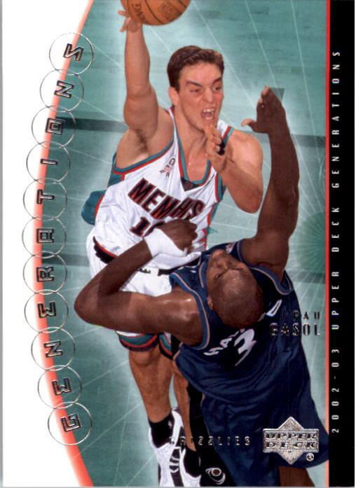 2002-03 Upper Deck Generations #22 Pau Gasol