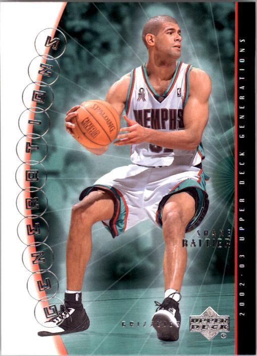 2002-03 Upper Deck Generations #23 Shane Battier