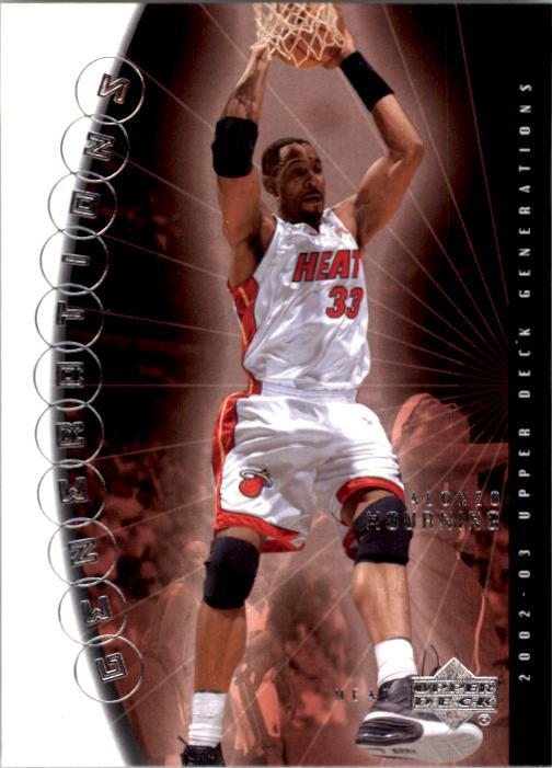 2002-03 Upper Deck Generations #24 Alonzo Mourning