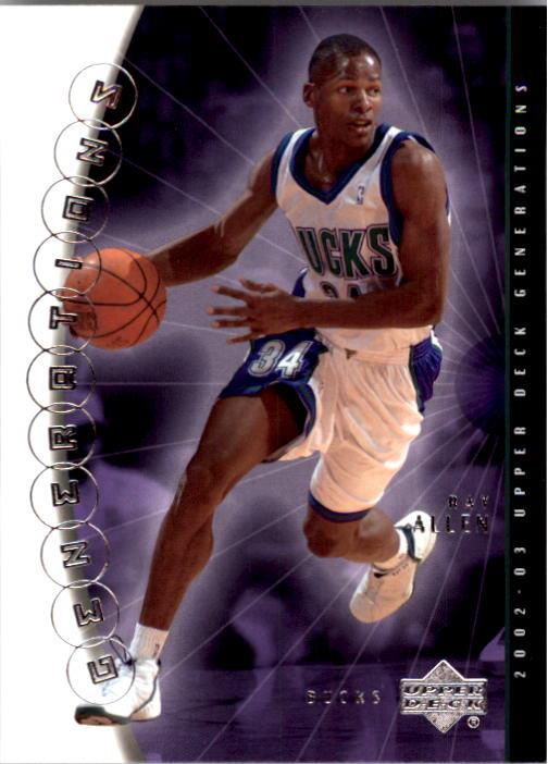 2002-03 Upper Deck Generations #25 Ray Allen