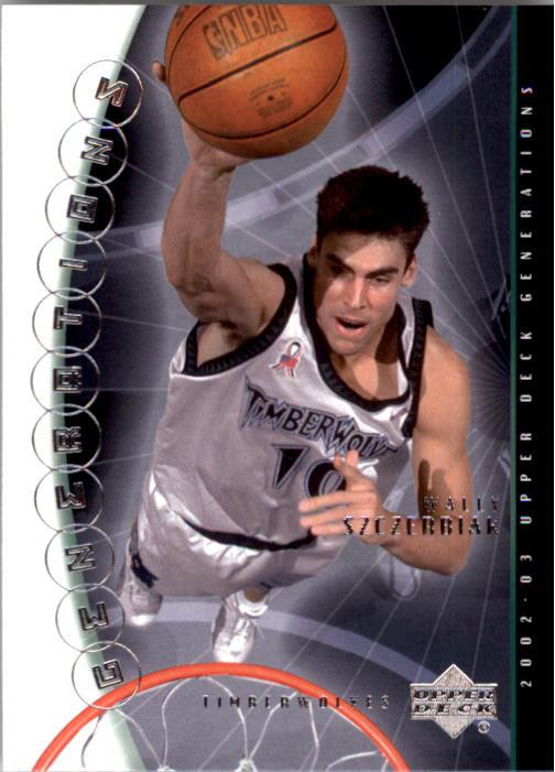 2002-03 Upper Deck Generations #27 Wally Szczerbiak