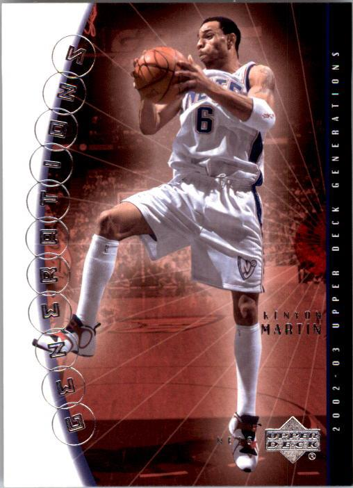 2002-03 Upper Deck Generations #29 Kenyon Martin
