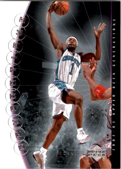 2002-03 Upper Deck Generations #31 Baron Davis