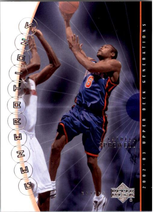 2002-03 Upper Deck Generations #32 Latrell Sprewell