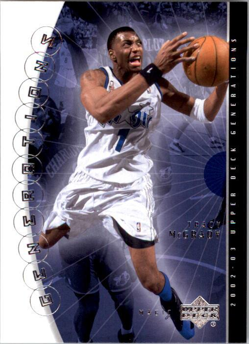 2002-03 Upper Deck Generations #33 Tracy McGrady
