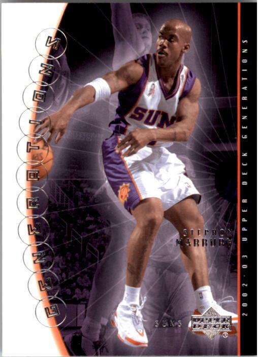 2002-03 Upper Deck Generations #35 Stephon Marbury