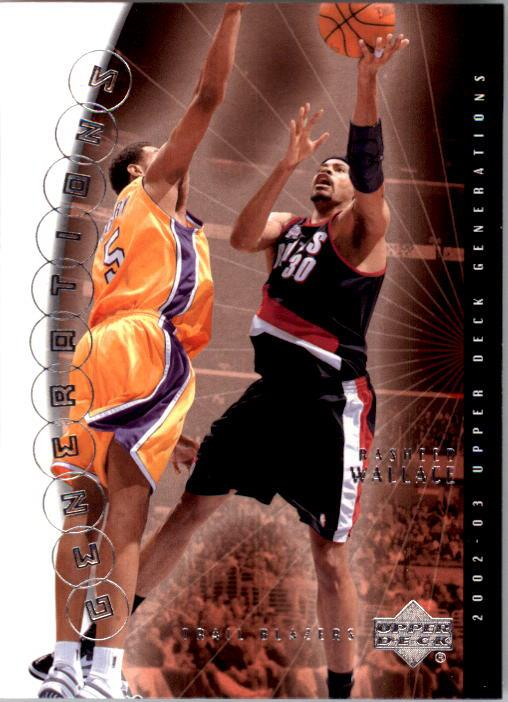 2002-03 Upper Deck Generations #37 Rasheed Wallace