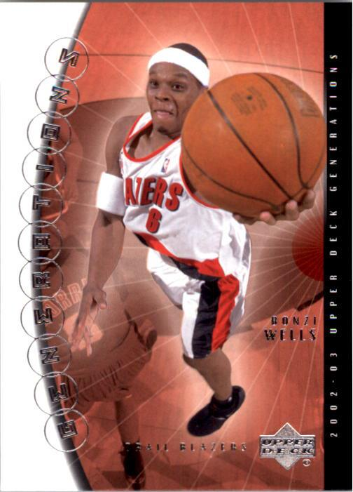 2002-03 Upper Deck Generations #38 Bonzi Wells