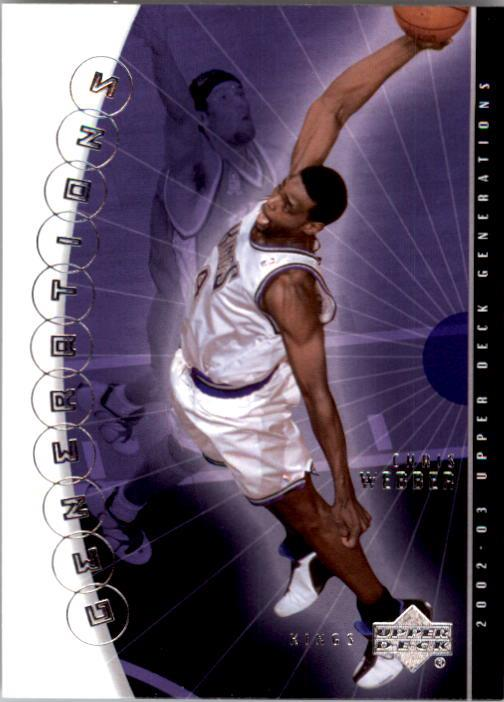 2002-03 Upper Deck Generations #39 Chris Webber