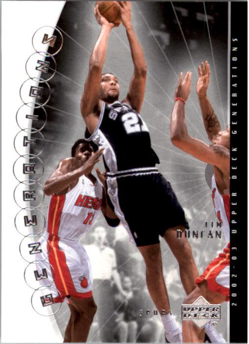 2002-03 Upper Deck Generations #41 Tim Duncan