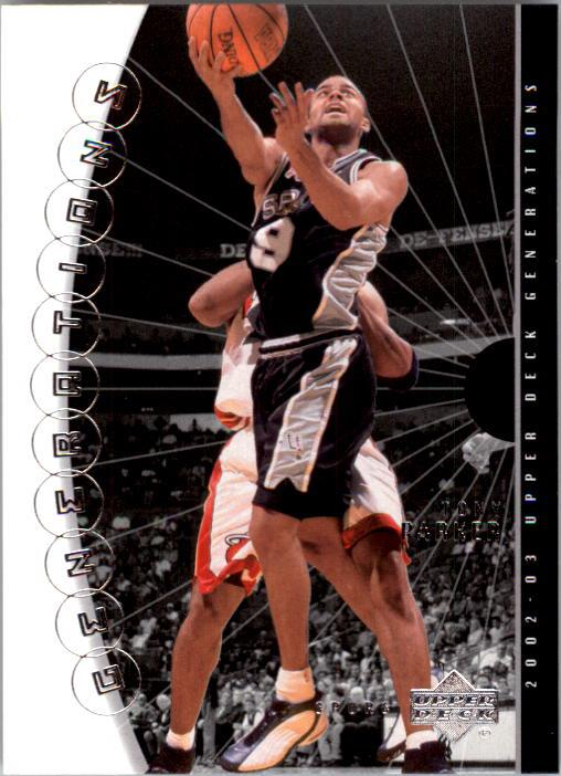 2002-03 Upper Deck Generations #42 Tony Parker