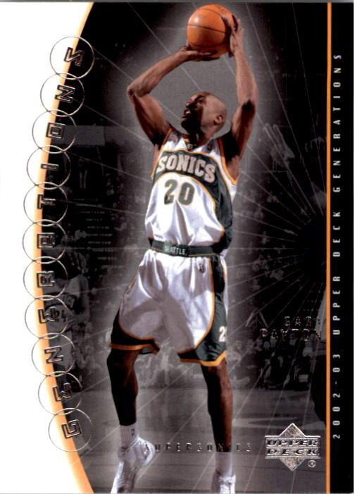 2002-03 Upper Deck Generations #43 Gary Payton