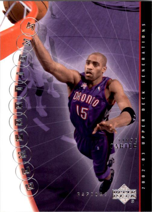 2002-03 Upper Deck Generations #45 Vince Carter