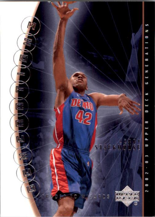 2002-03 Upper Deck Generations #50 Jerry Stackhouse