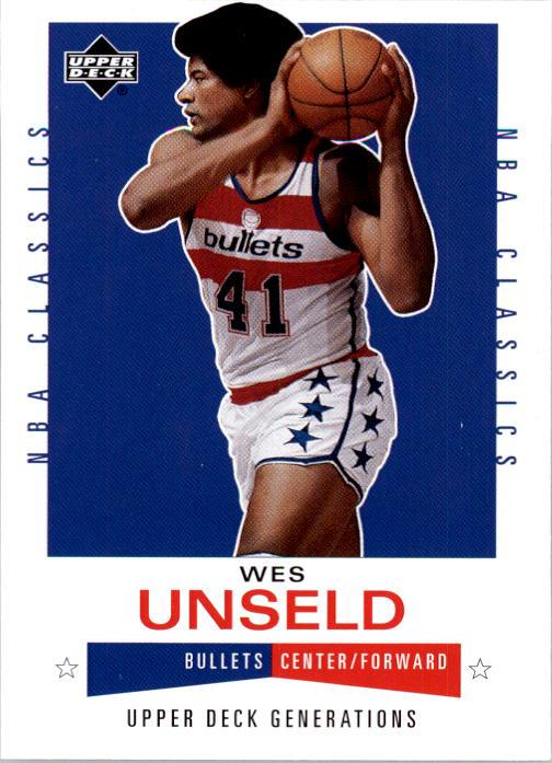 2002-03 Upper Deck Generations #100 Wes Unseld