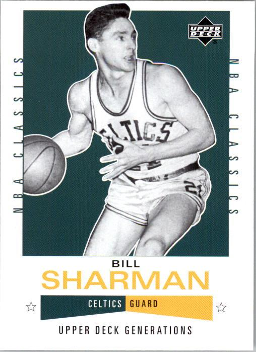 2002-03 Upper Deck Generations #104 Bill Sharman