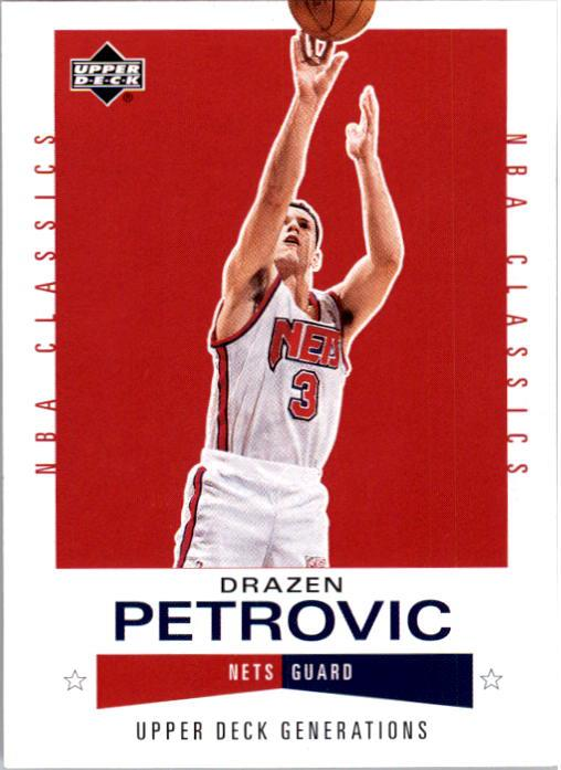 2002-03 Upper Deck Generations #111 Drazen Petrovic