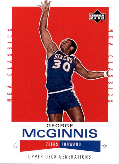 2002-03 Upper Deck Generations #122 George McGinnis