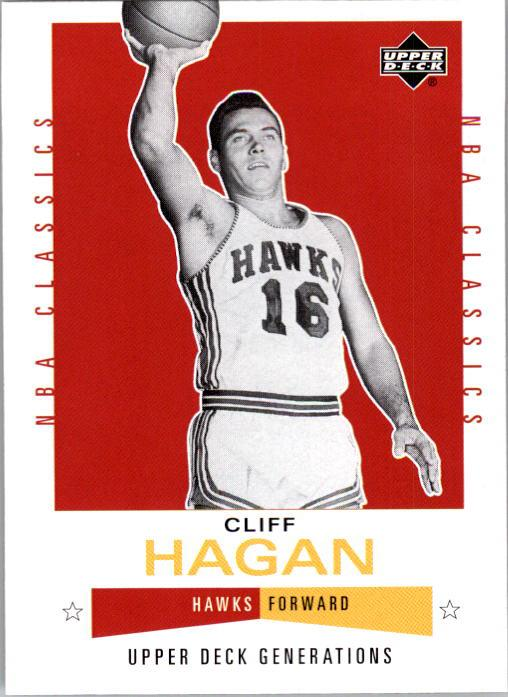 2002-03 Upper Deck Generations #126 Cliff Hagan