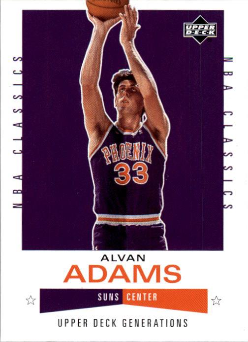 2002-03 Upper Deck Generations #145 Alvan Adams