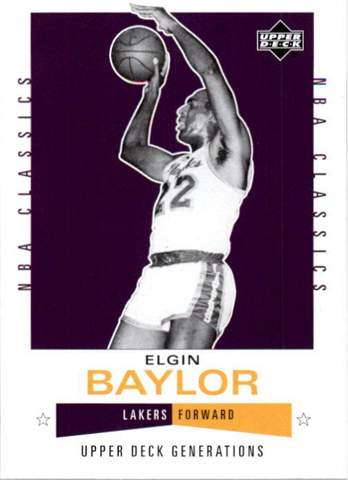 2002-03 Upper Deck Generations #172 Elgin Baylor front image