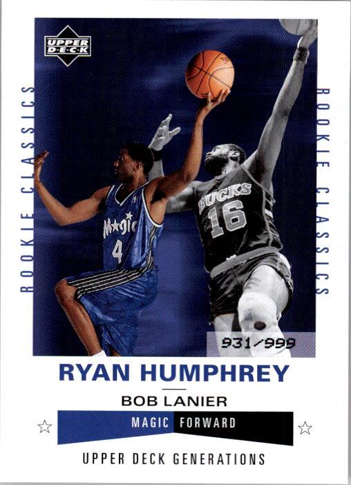 2002-03 Upper Deck Generations #211 Ryan Humphrey/Bob Lanier