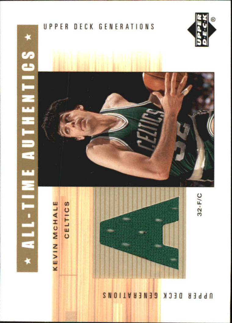 2002-03 Upper Deck Generations All-Time Authentics #MCA Kevin McHale