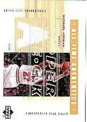 2002-03 Upper Deck Generations All-Time Authentics #MJA Michael Jordan Warm
