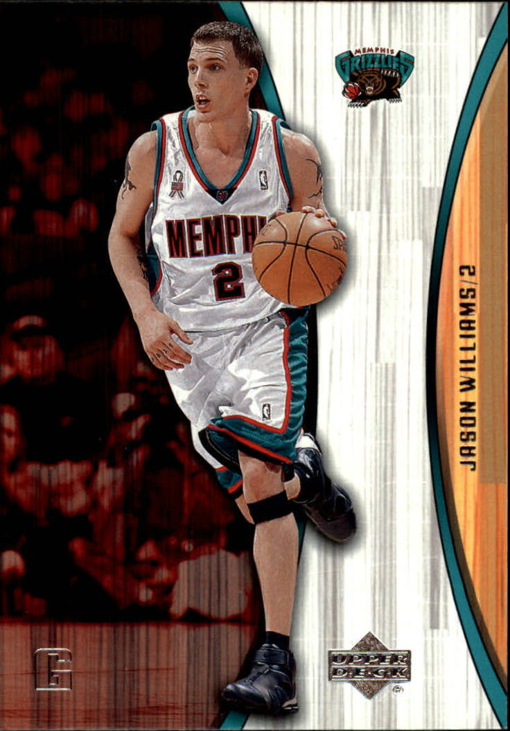 2002-03 Upper Deck Hardcourt #40 Jason Williams