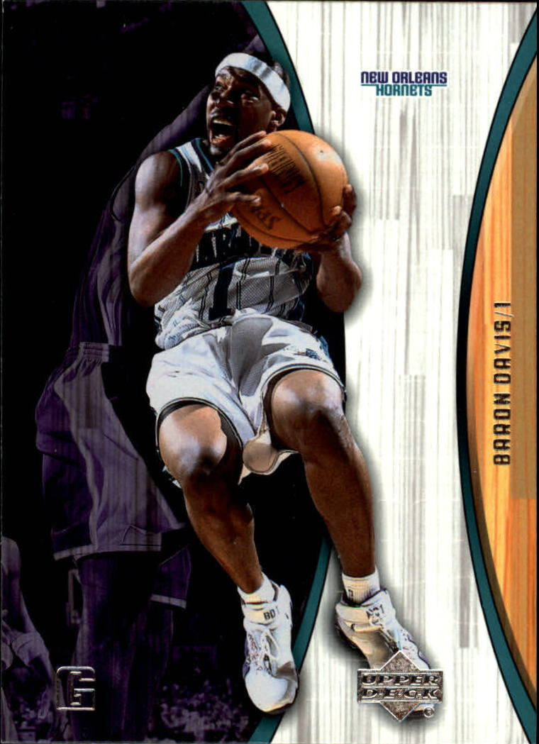 2002-03 Upper Deck Hardcourt #55 Baron Davis