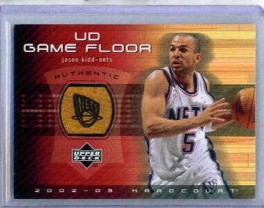 2002-03 Upper Deck Hardcourt UD Game Floor #JKF Jason Kidd