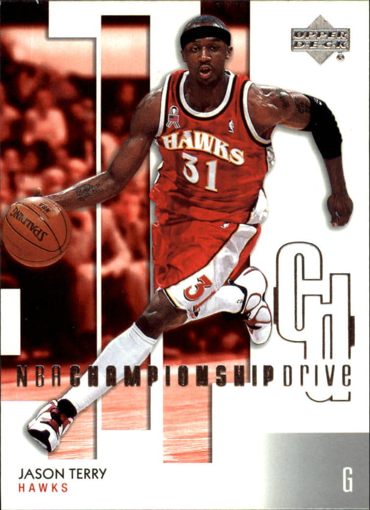 2002-03 Upper Deck Championship Drive #3 Jason Terry