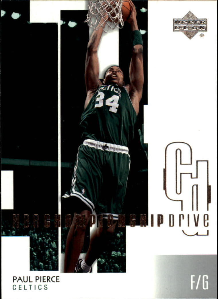 2002-03 Upper Deck Championship Drive #6 Paul Pierce