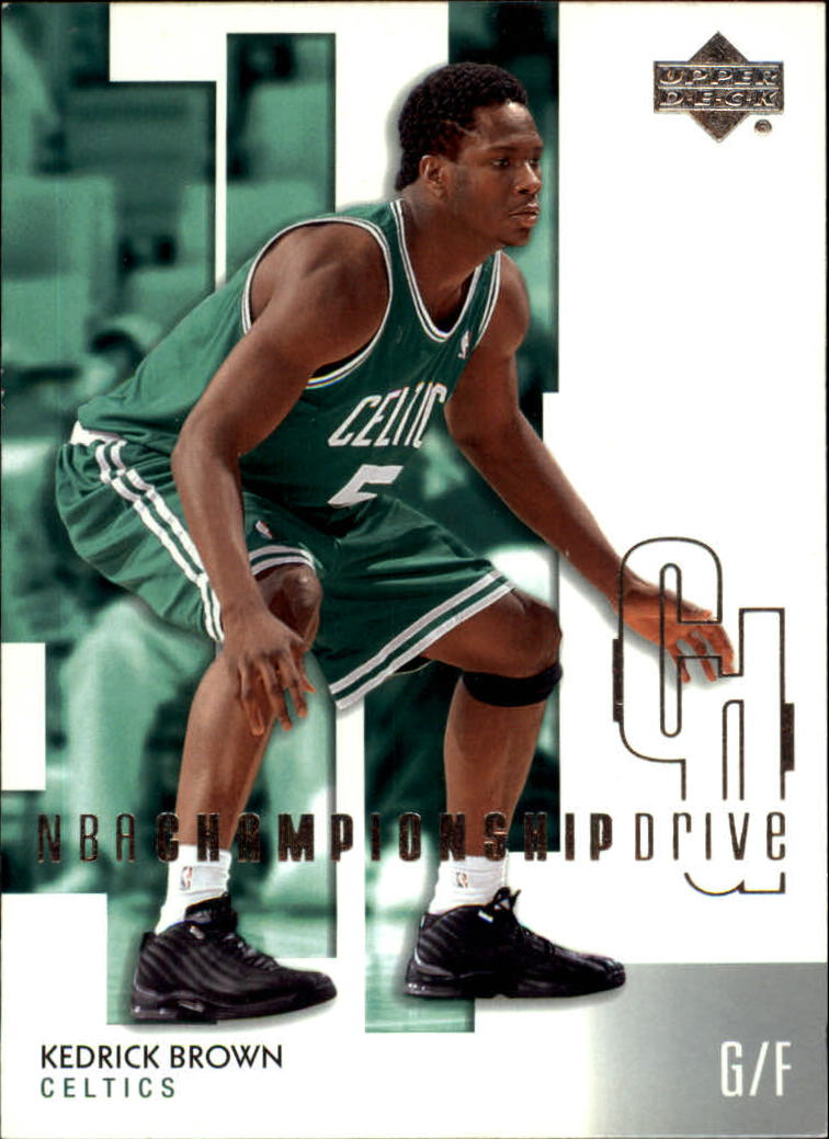 2002-03 Upper Deck Championship Drive #8 Kedrick Brown