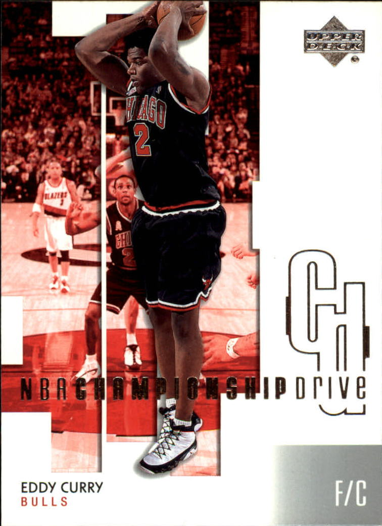2002-03 Upper Deck Championship Drive #11 Eddy Curry