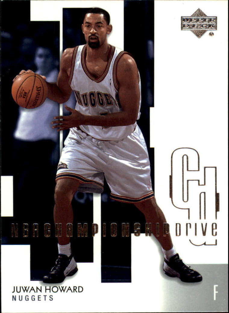 2002-03 Upper Deck Championship Drive #21 Juwan Howard