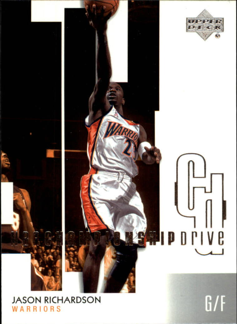 2002-03 Upper Deck Championship Drive #25 Jason Richardson
