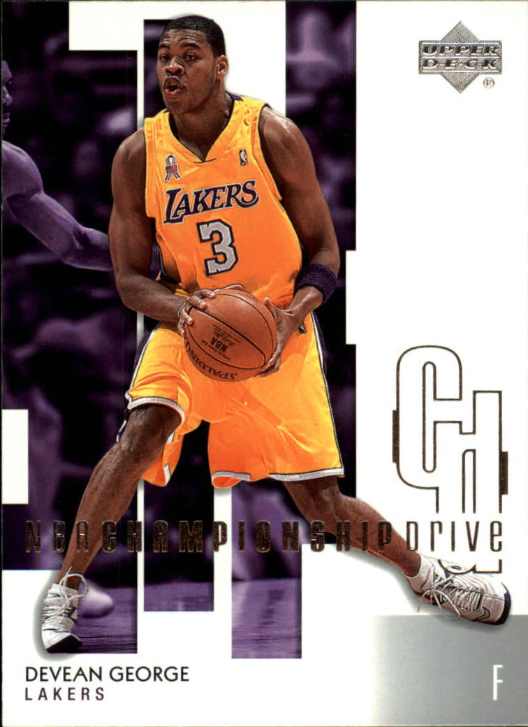 2002-03 Upper Deck Championship Drive #40 Devean George