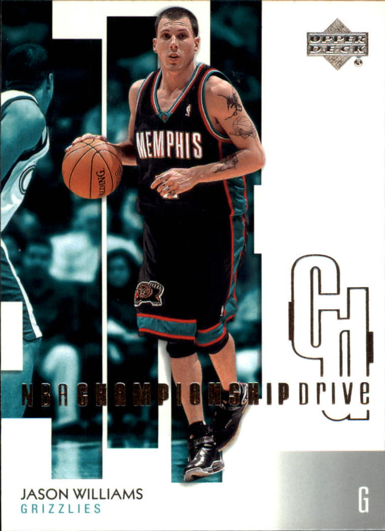 2002-03 Upper Deck Championship Drive #43 Jason Williams