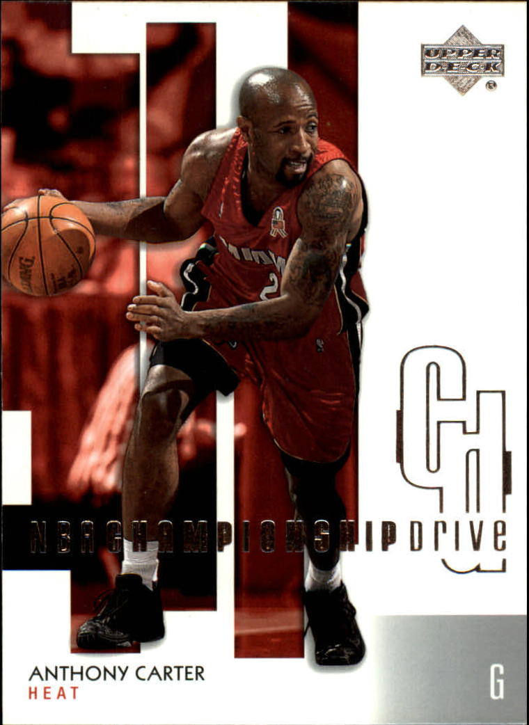 2002-03 Upper Deck Championship Drive #46 Anthony Carter