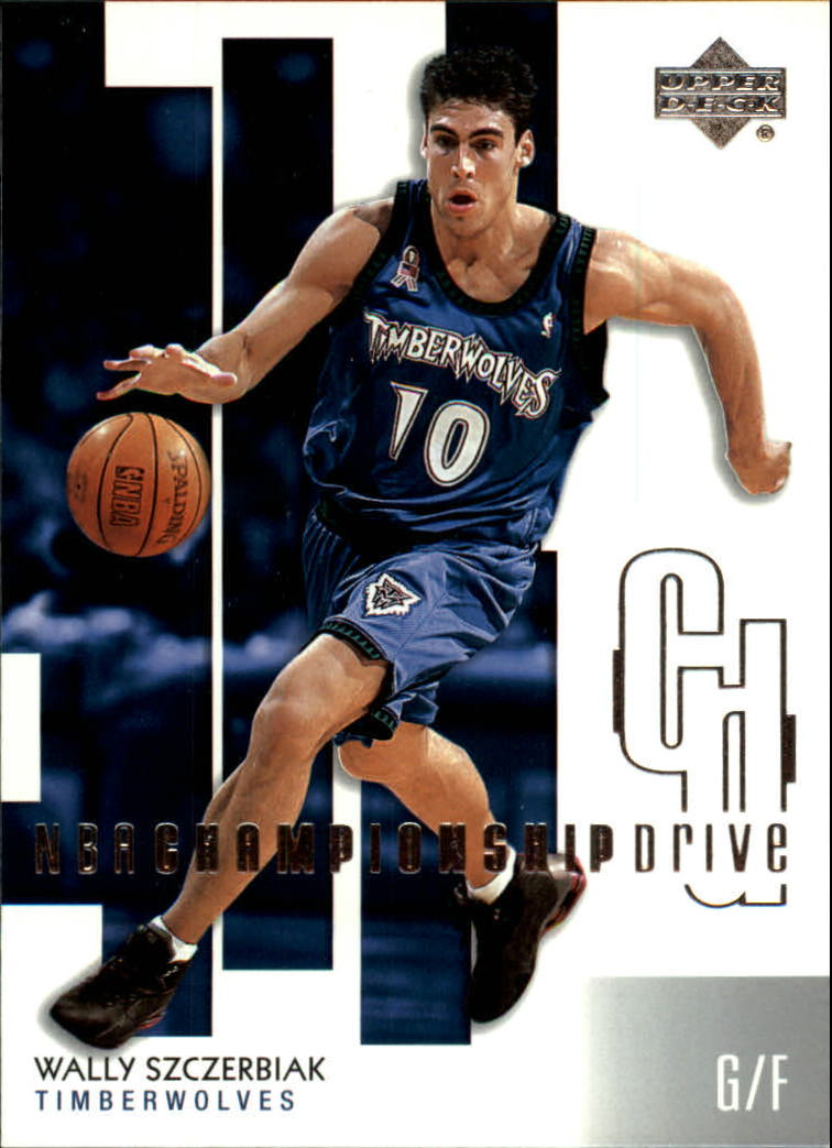 2002-03 Upper Deck Championship Drive #51 Wally Szczerbiak