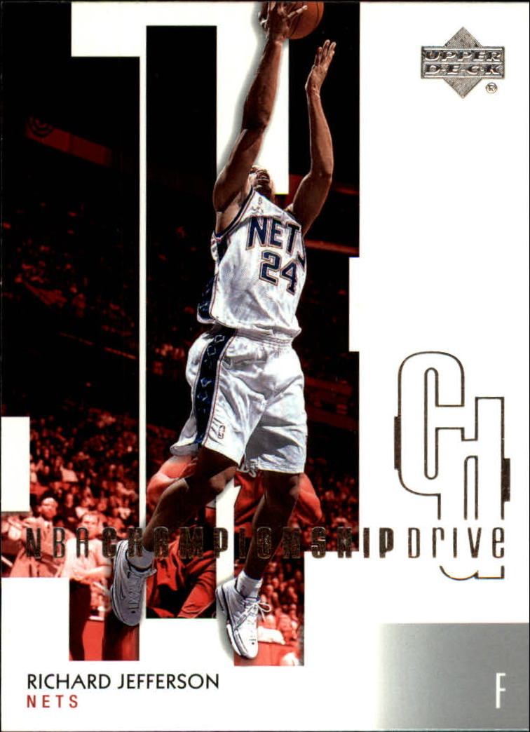 2002-03 Upper Deck Championship Drive #54 Richard Jefferson