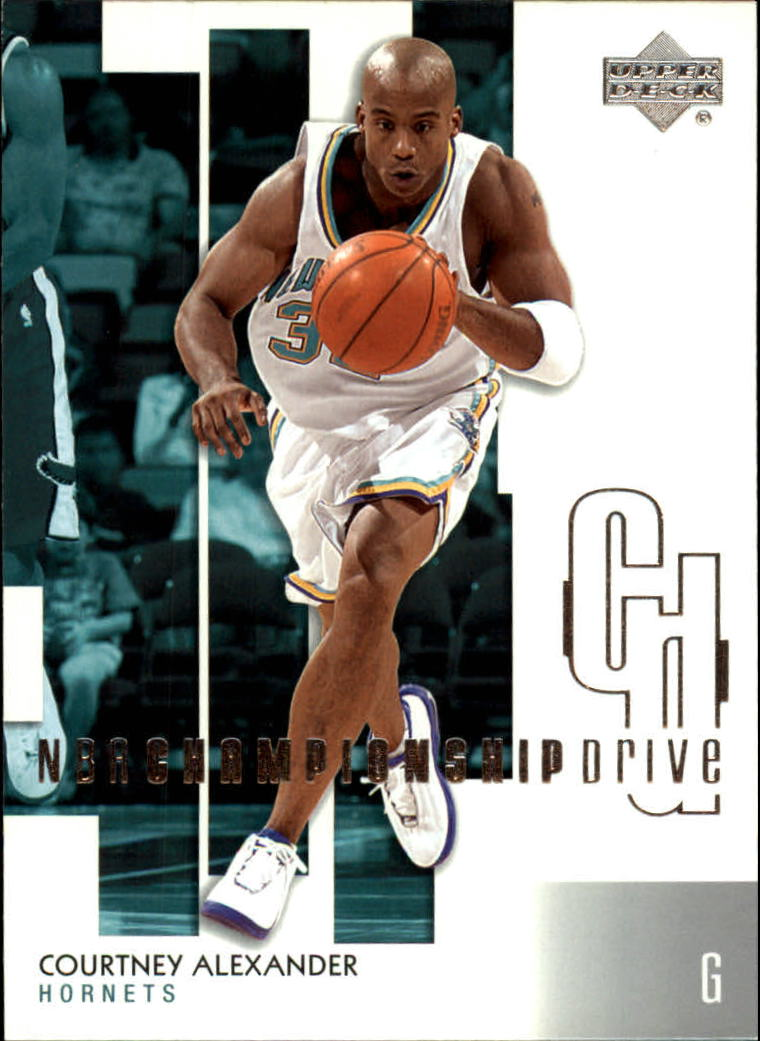 2002-03 Upper Deck Championship Drive #61 Courtney Alexander