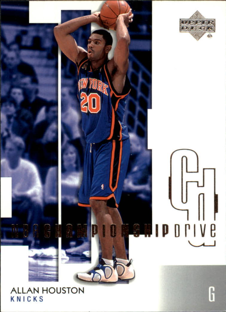 2002-03 Upper Deck Championship Drive #63 Allan Houston