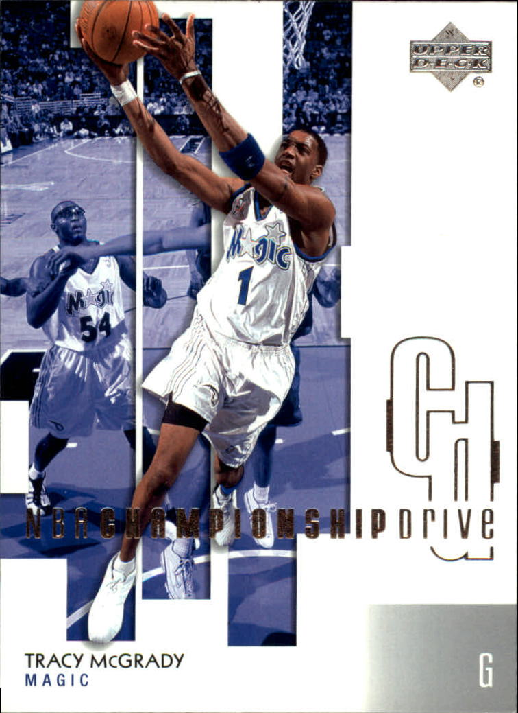 2002-03 Upper Deck Championship Drive #66 Tracy McGrady